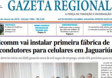 Jornal Gazeta Regional Edição 1664