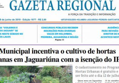 Jornal Gazeta Regional Edição 1677