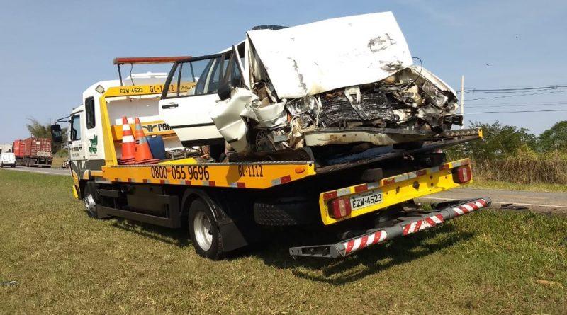 Acidente na SP-340 em Jaguariúna deixa dois feridos