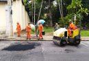 Prefeitura de Pedreira realiza Operação Tapa Buracos